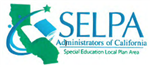 Graphic: SELPA Administration of CA