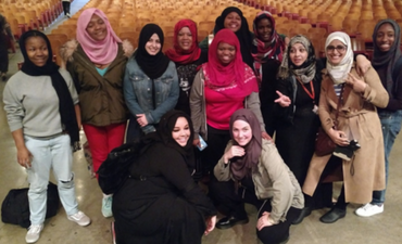 Hijab Day at McClymonds High School