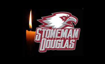 stoneman douglas mascot with candle