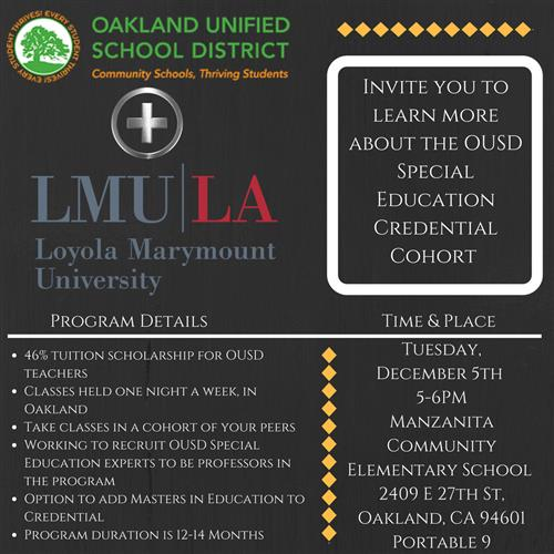 LMU Credential Session