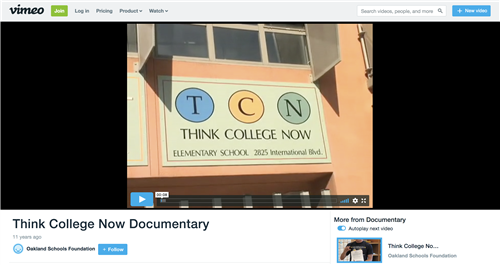 Click to watch TCN Documentary!