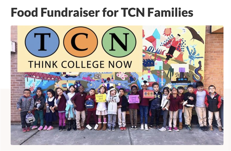 Thank you from TCN Kinders!