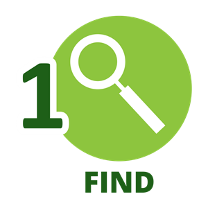 find icon
