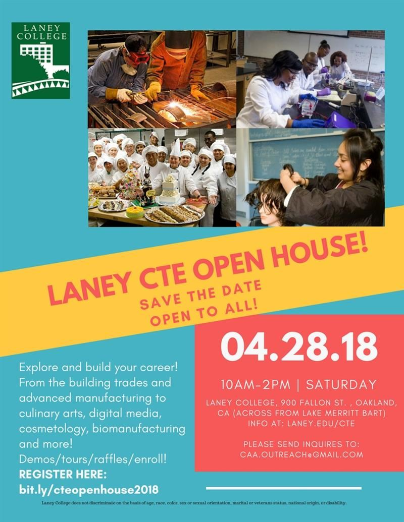 Laney CTE Open House