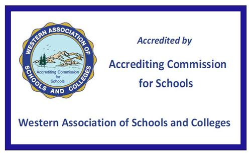 WASC Accreditation Banner