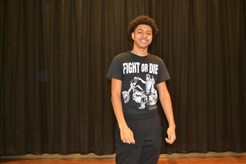 Atlantis Clay, 2nd place Poetry Out Loud Winner