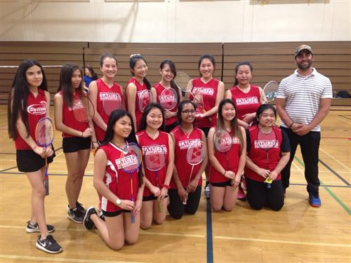 Badminton Team Wins Oakland Athletic League Championship