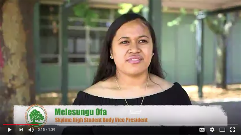 OUSD Kicks Off First Day of School with A Visit to Skyline's Campus