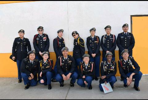 JROTC Drill Team