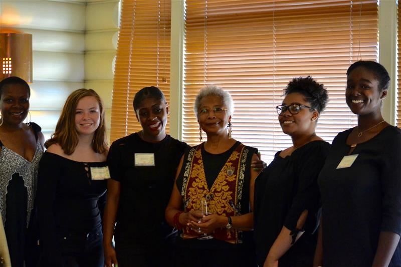 Skyline's Drama Students Perform for Alice Walker at Restorative Justice Benefit