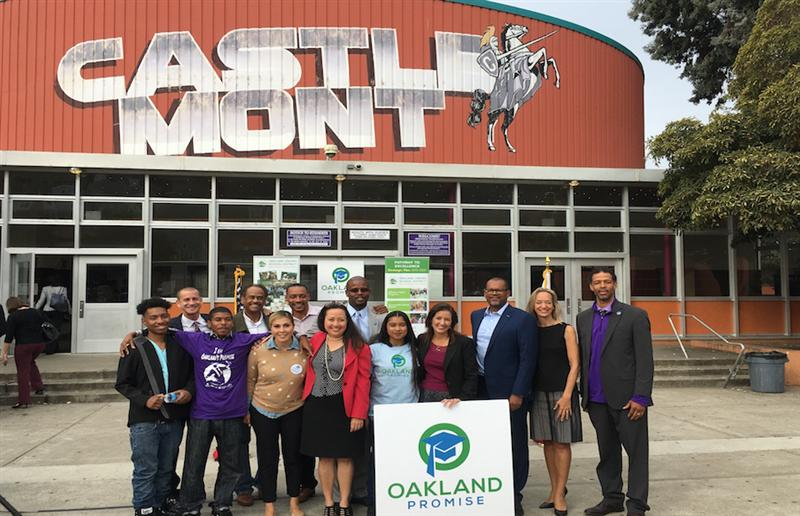 Castlemont Receives $2M for College Completion From the Oakland Promise
