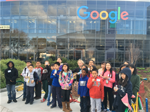 Extended Learning Field Trip to Google
