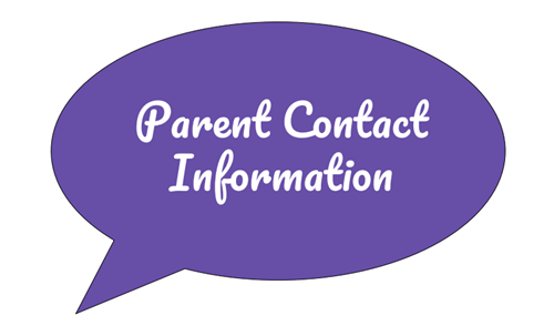 Parent Contact Information