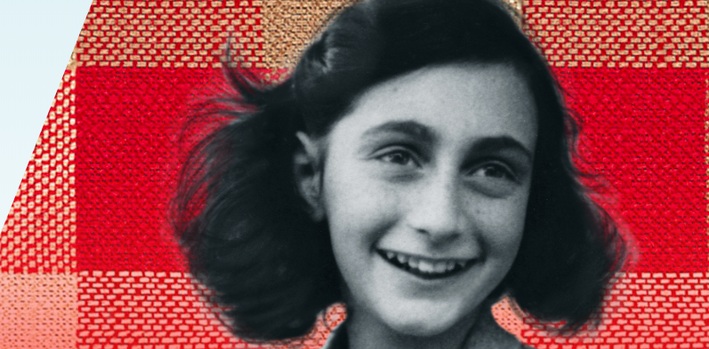 Anne Frank Exhibit at Bret Harte Library