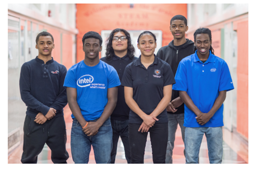 McClymond HS Intel Interns