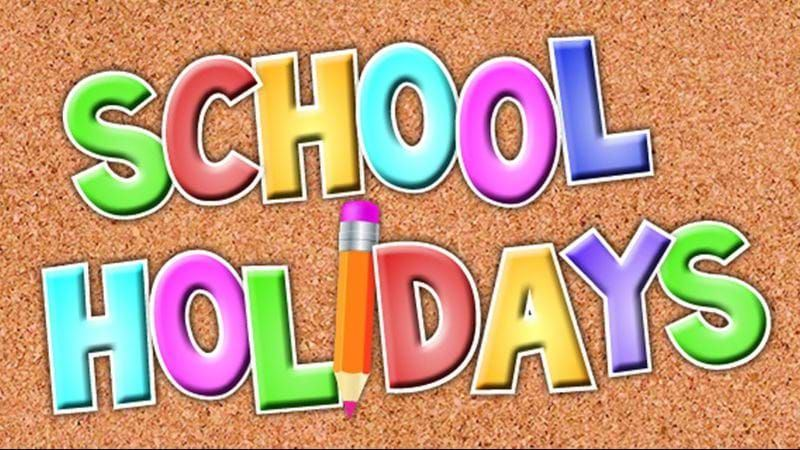 School Holiday Friday, September 25