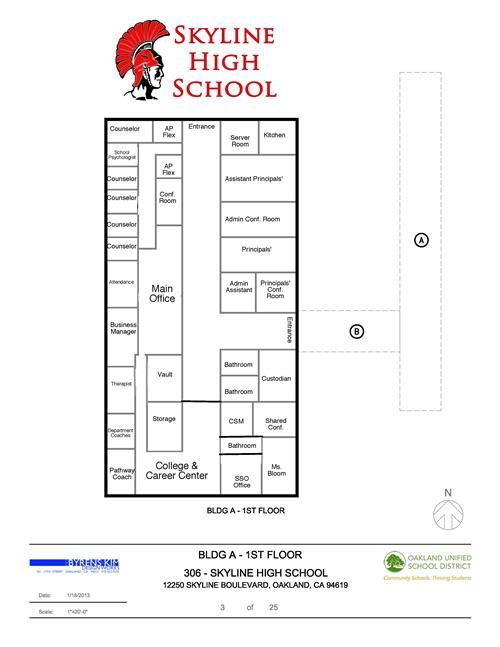 School Campus Map.Our Campus Campus Map Transportation Info