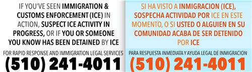 ICE Contact Information