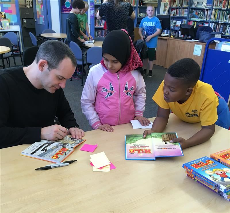 Cartoonist Judd Winick Visits Emerson