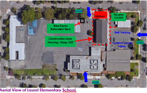 Aerial View of Laurel Elementary School