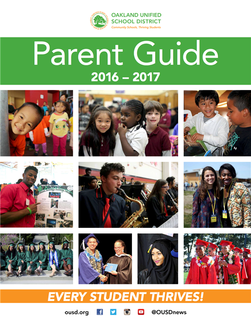 OUSD Parent Guide Cover