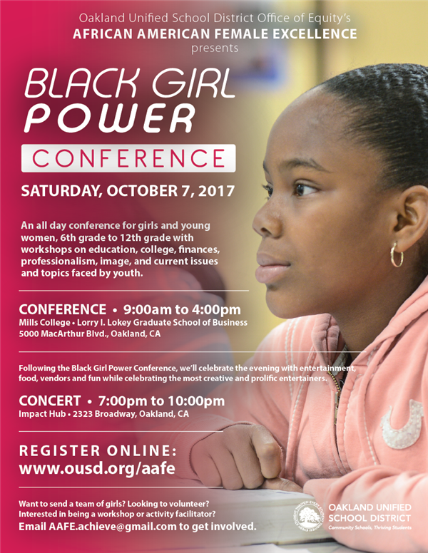 Black Girl Power Conference