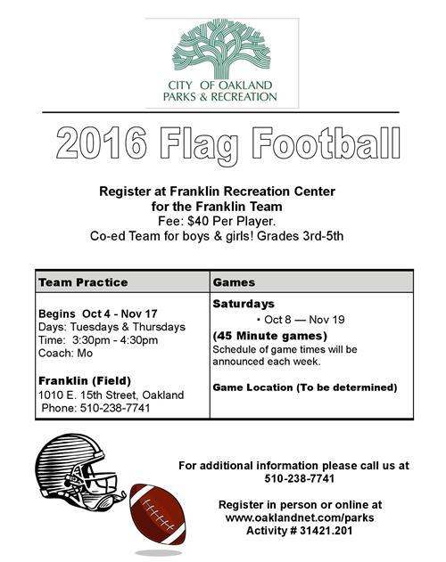 Flag Football 2016