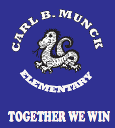 Logo: Carl Munck Dragon - Motto: Together We Win