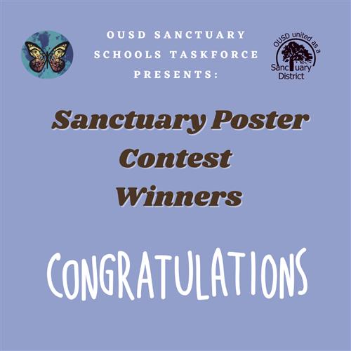 Ousd 2021-22 Calendar Sanctuary District / 2020 21 Student Poster CONTEST