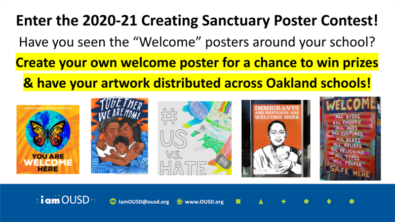 Sanctuary District / 2019 20 Student Poster CONTEST