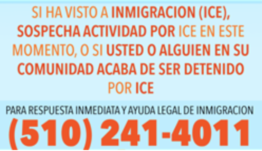 Ice Hotline Spanish