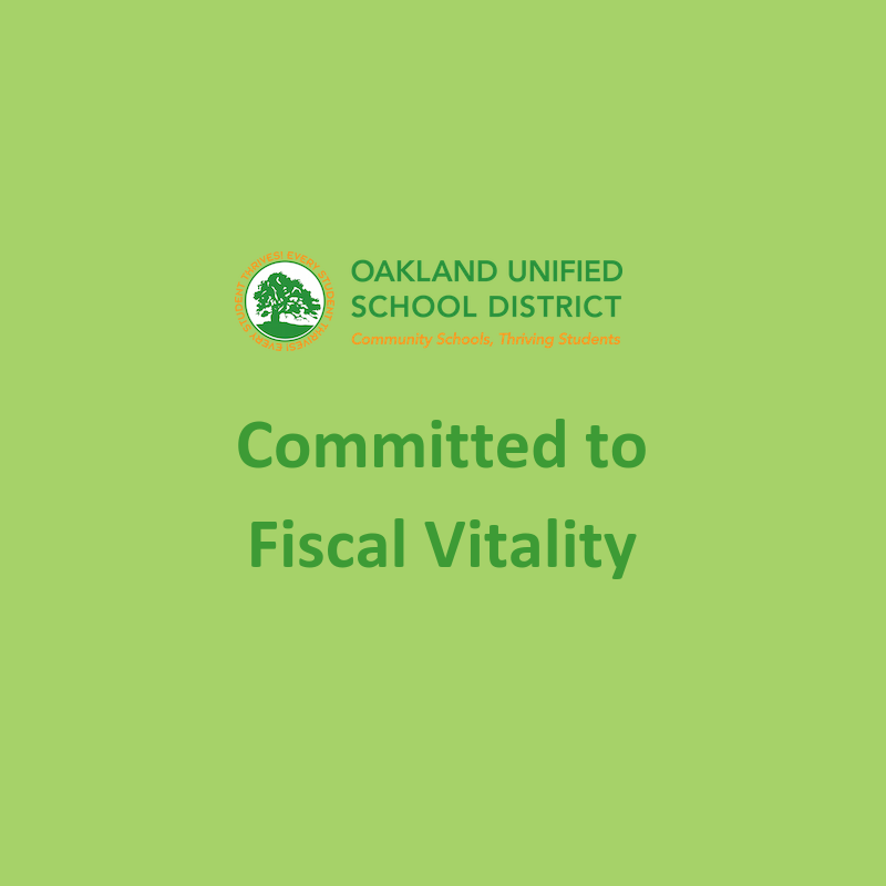 Committed to Fiscal Vitality