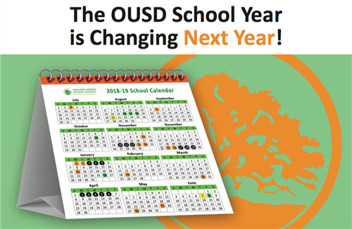 The OUSD School Year is Changing Next Year