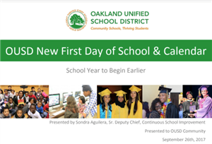 OUSD New First Day Power Point Slides
