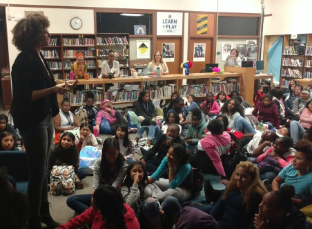 11.06.18 All Female Students at Westlake Middle School Come Together for Women's Empowerment Assembly