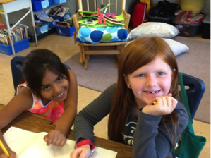 Smiling Redwood Heights Students