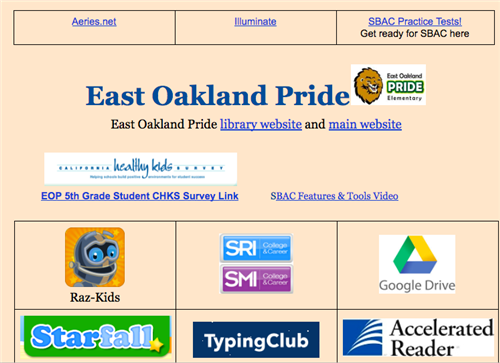 student home page