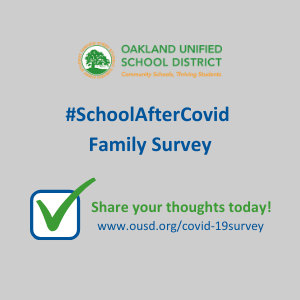 school after covid survey