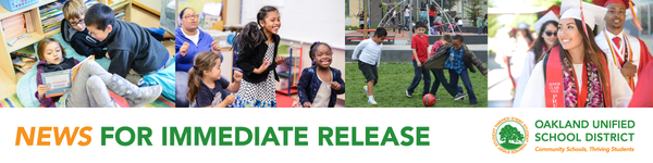 OUSD News for Immediate Release