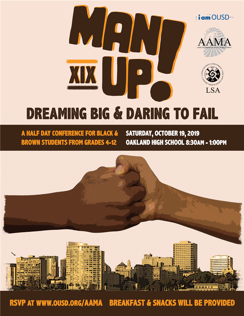 Man Up Flyer
