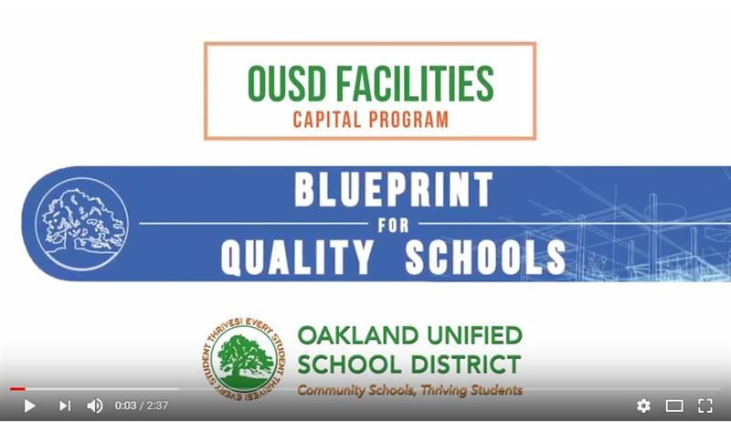 Blueprint For Quality Schools Updates