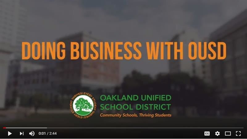 Doing Business with OUSD