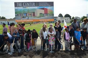 Groundbreaking at The Center