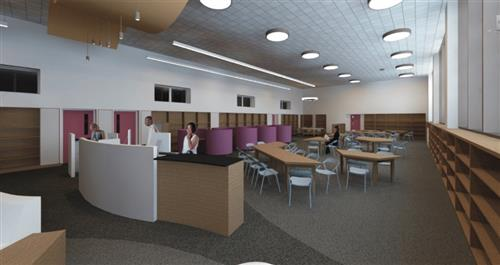 McClymonds High School's Improved Library