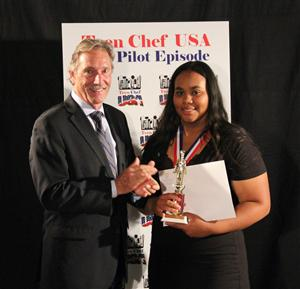 Teen Chef winner