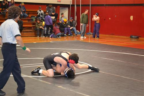 Wrestling Meet at Skyline