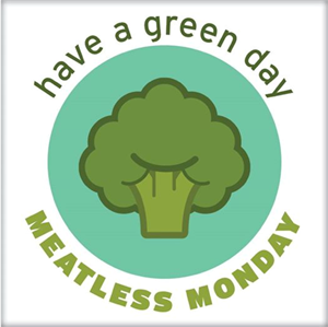 Have a green day - meatless Monday