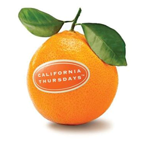 California Thursdays Orange