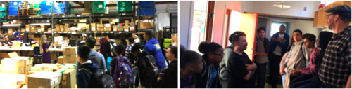 Oakland High at KSI Keyboards and at Tiny House at Laney College