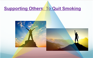 supporting others to quit